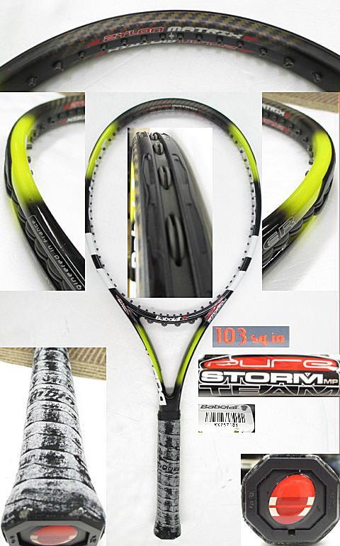 【中古 テニスラケット】BA0573 ピュアストームMPチーム(2004年モデル)
