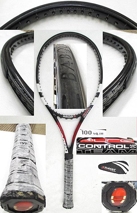 【中古 テニスラケット】BA0588 バボラ ピュアコントロールMPチームプラス