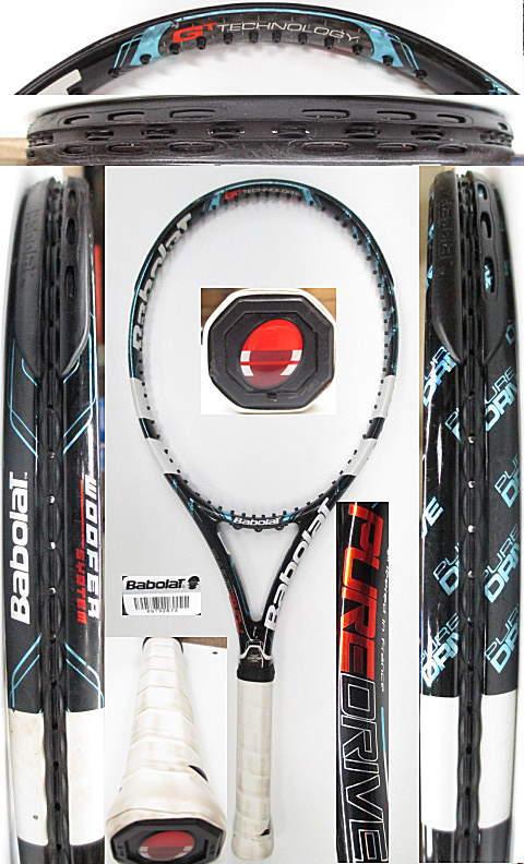 【中古 テニスラケット】BA0659 バボラ ピュアドライブ(2012年モデル)