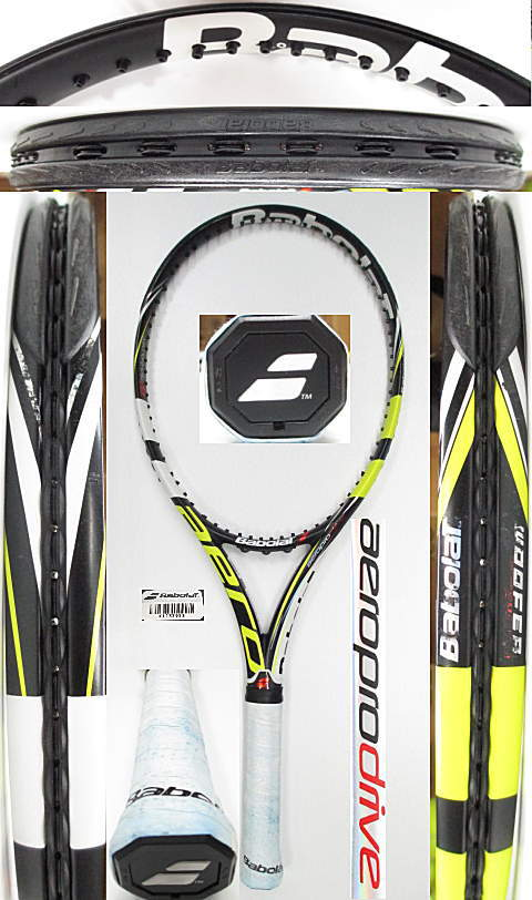 【中古 テニスラケット】BA0669 バボラ アエロプロドライブ(2012年モデル)