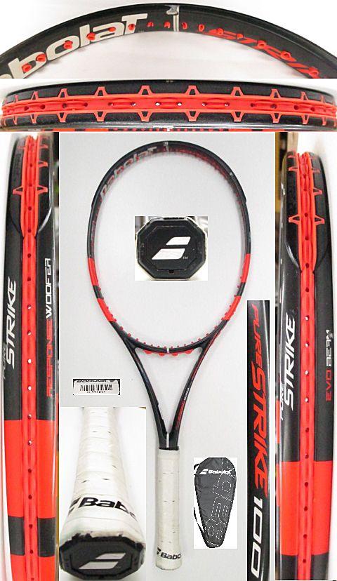 【中古 テニスラケット】BA0687 バボラ ピュアストライク100(2013年モデル)