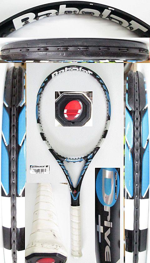 【中古 テニスラケット】BA0703 バボラ ピュアドライブ+(2006年モデル)