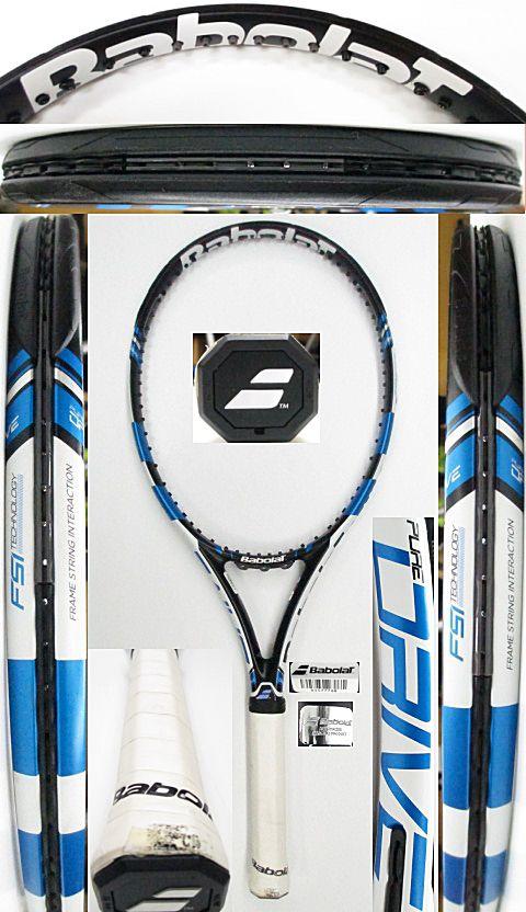 【中古 テニスラケット】BA0705 バボラ ピュアドライブ(2015年モデル)