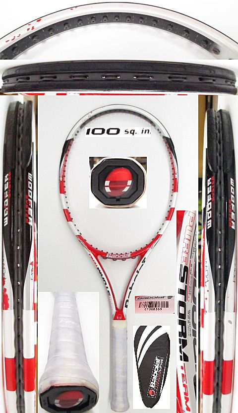 【中古 テニスラケット】BA0707 バボラ ピュアストームチーム(2011年モデル)