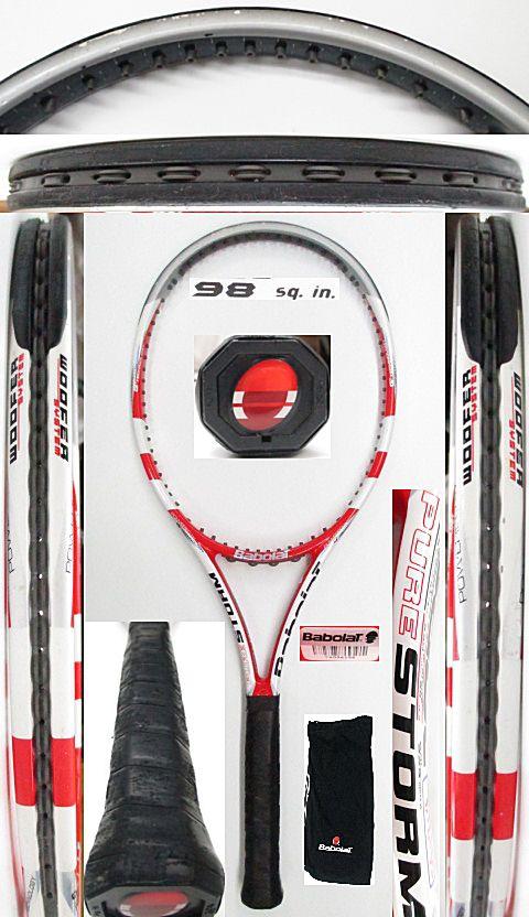 【中古 テニスラケット】BA0714 バボラ ピュアストーム(2011年モデル)