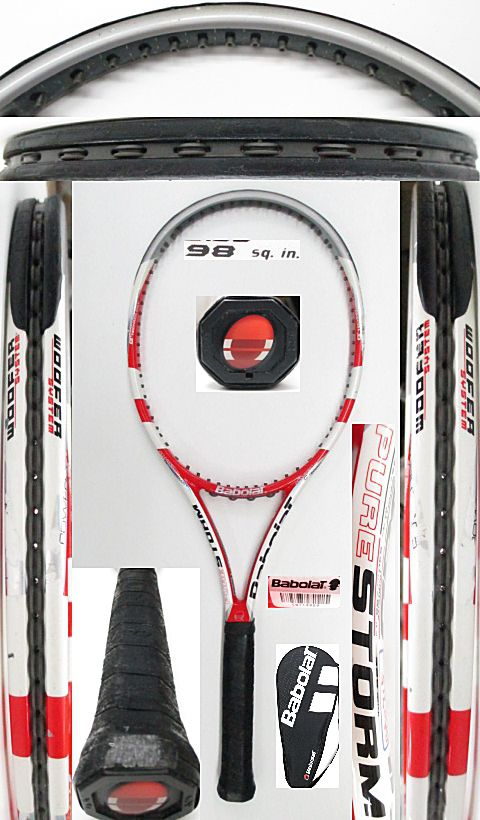 【中古 テニスラケット】BA0715 バボラ ピュアストーム(2011年モデル)
