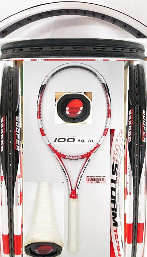 【中古 テニスラケット】BA0722 バボラ ピュアストームチーム(2011年モデル)