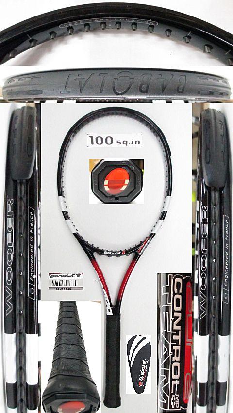 【中古 テニスラケット】BA0726 バボラ ピュアコントロールMPチーム+(2007年モデル)