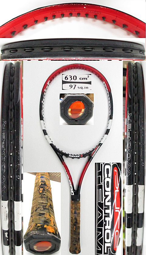 【中古 テニスラケット】BA0730 バボラ ピュアコントロールチーム(2002年モデル)