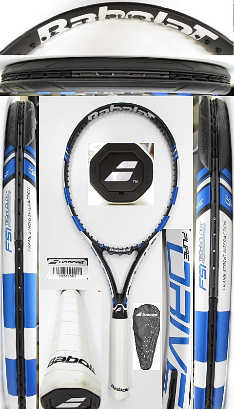 【中古 テニスラケット】BA0735 バボラ ピュアドライブ(2015年モデル)