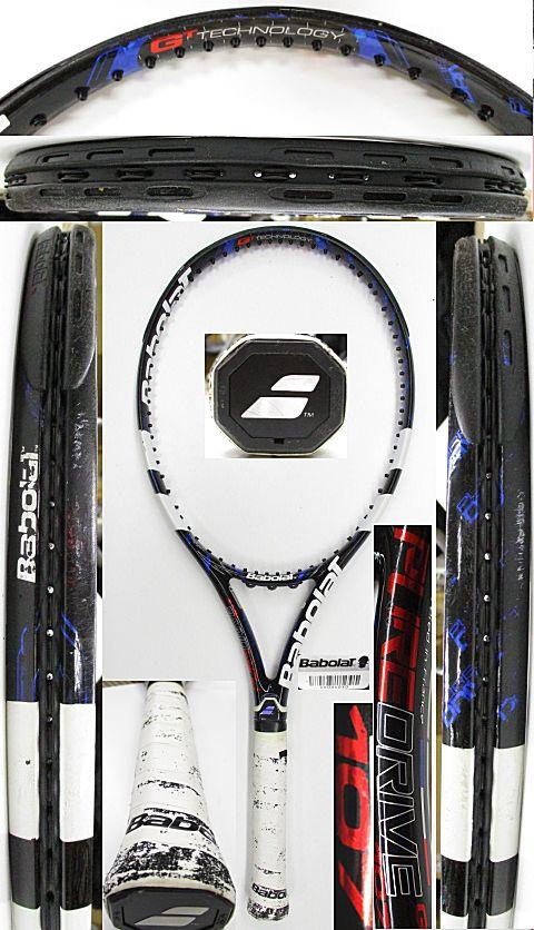 【中古 テニスラケット】BA0747 バボラ ピュアドライブ107(2012年モデル)