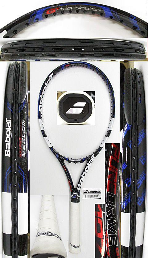 【中古 テニスラケット】BA0748 バボラ ピュアドライブ107(2012年モデル)