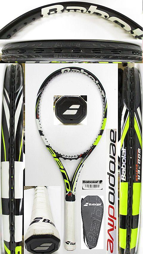 【中古 テニスラケット】BA0749 バボラ アエロプロドライブ(2012年モデル)