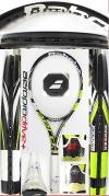 【中古テニスラケット】バボラ アエロプロドライブ+(2012年)プロストック コアテックス非搭載