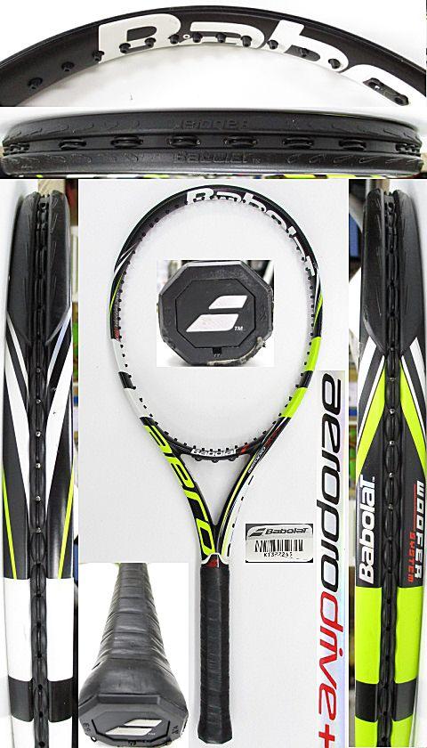 【中古 テニスラケット】BA0753 バボラ アエロプロドライブ+(2012年)