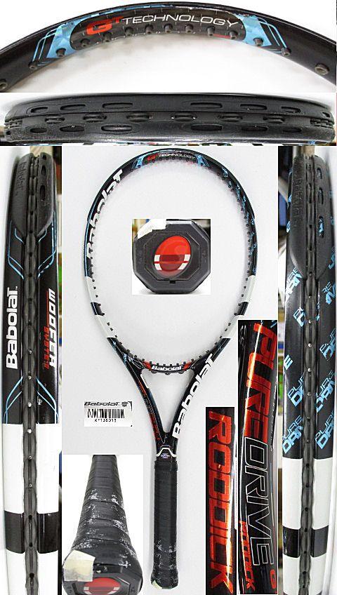 【中古 テニスラケット】BA0754 バボラ ピュアドライブ ロディック(2012年)