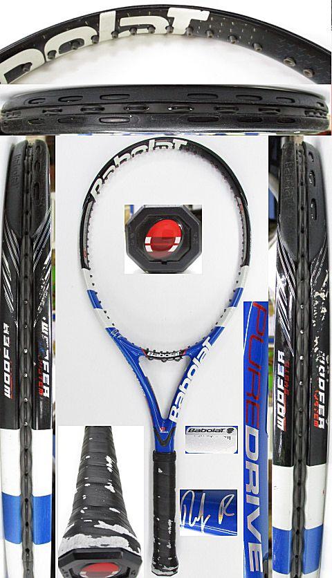 【中古 テニスラケット】BA0755 バボラ ピュアドライブ ロディック(2009年)