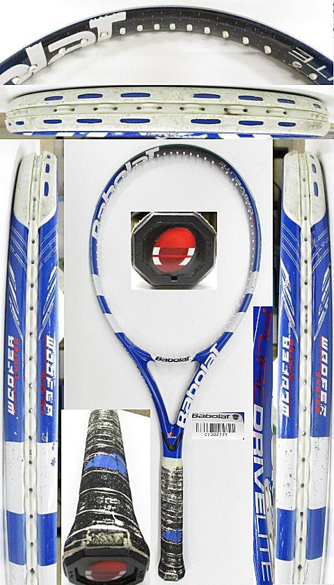 【中古 テニスラケット】BA0757 バボラ ピュアドライブライト(2009年)