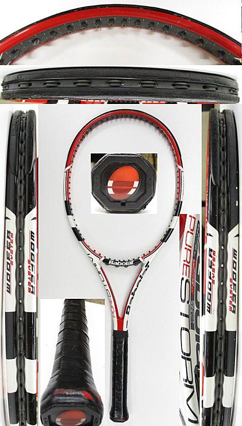 【中古 テニスラケット】BA0758 バボラ ピュアストーム(2009年)