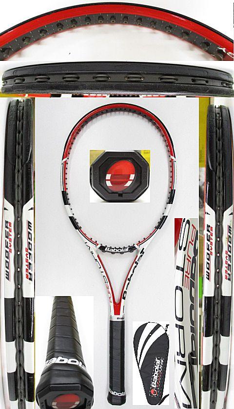 【中古 テニスラケット】BA0762 バボラ ピュアストーム(2009年)