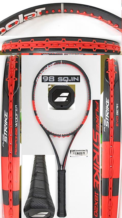 【中古 テニスラケット】BA0765 バボラ ピュアストライク18×20(2013年)