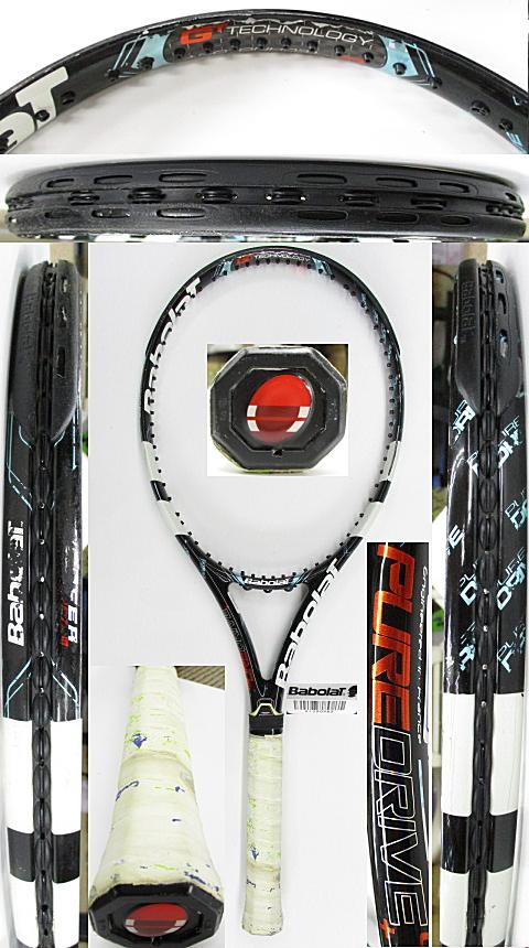 【中古 テニスラケット】BA0768 バボラ ピュアドライブ+(2012年)