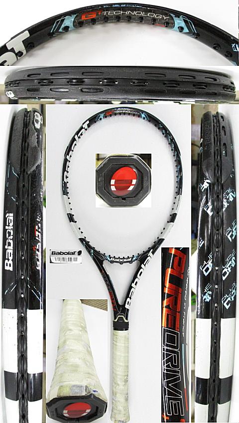 【中古 テニスラケット】BA0769 バボラ ピュアドライブ+(2012年)