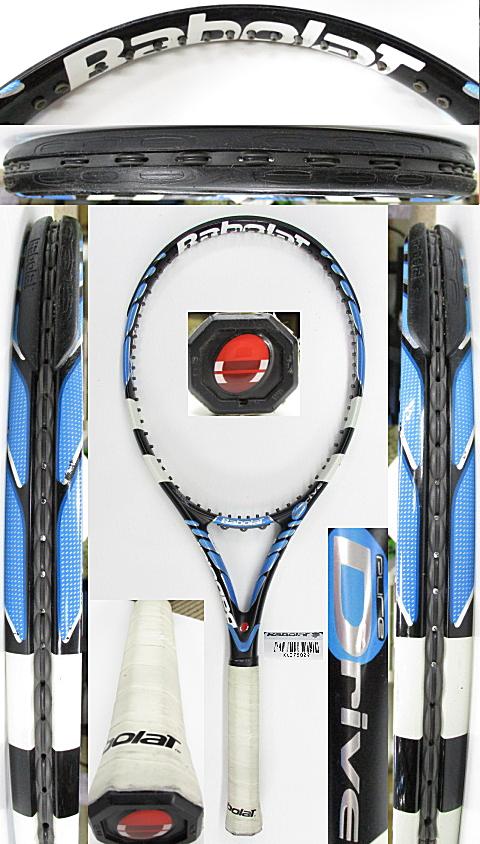 【中古 テニスラケット】BA0771 バボラ ピュアドライブ(2006年)