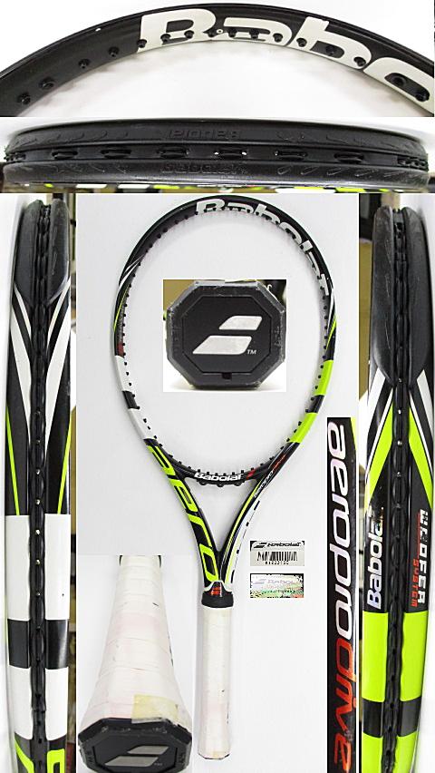 【中古 テニスラケット】BA0772 バボラ アエロプロドライブ(2012年)