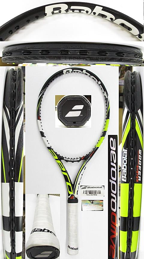 【中古 テニスラケット】BA0773 バボラ アエロプロドライブ(2012年)