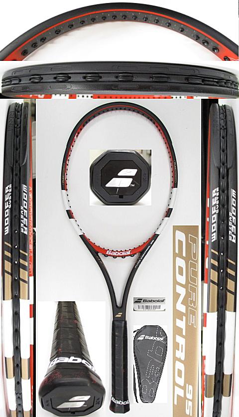 【中古 テニスラケット】BA0779 バボラ ピュアコントロール95(2013年モデル)