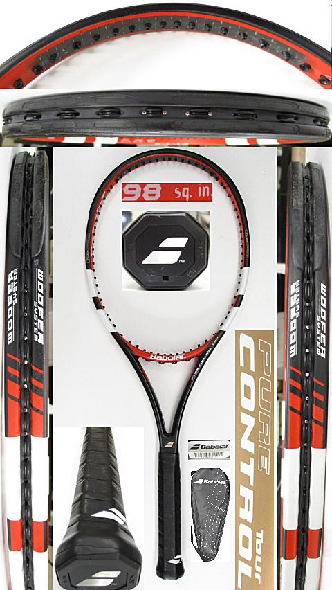 【中古 テニスラケット】BA0780 バボラ ピュアコントロールツアー(2014年モデル)