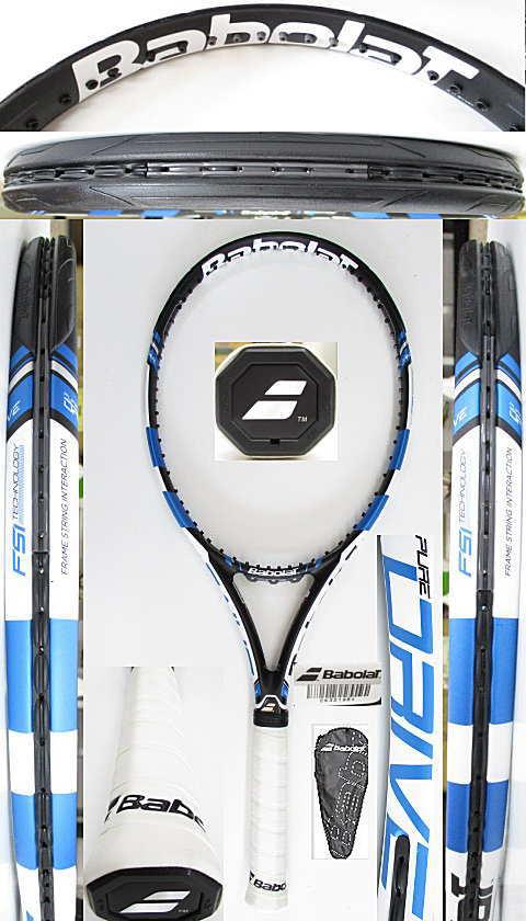 【中古 テニスラケット】BA0782 バボラ ピュアドライブ(2015年モデル)