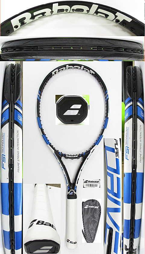 【中古 テニスラケット】BA0783 バボラ ピュアドライブ(2015年モデル)