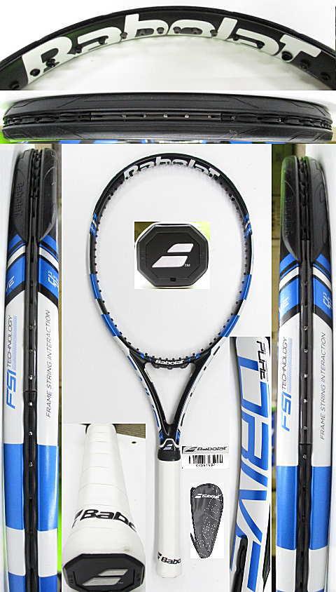 【中古 テニスラケット】BA0784 バボラ ピュアドライブ(2015年モデル)