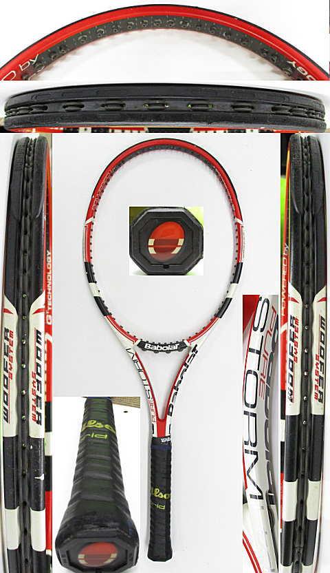 【中古 テニスラケット】BA0786 バボラ ピュアストームリミテッド(2009年モデル)