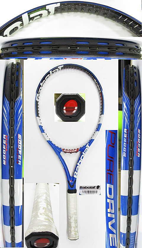 【中古 テニスラケット】BA0787 バボラ ピュアドライブ(2009年モデル)