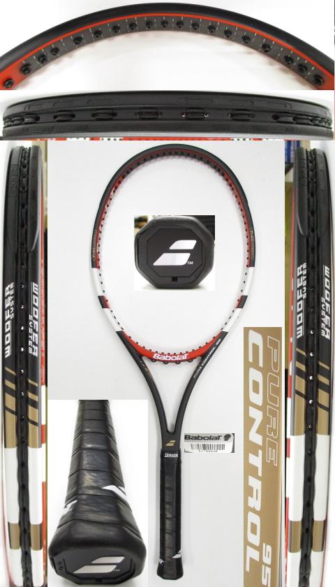 【中古 テニスラケット】BA0789 バボラ ピュアコントロール95(2014年)