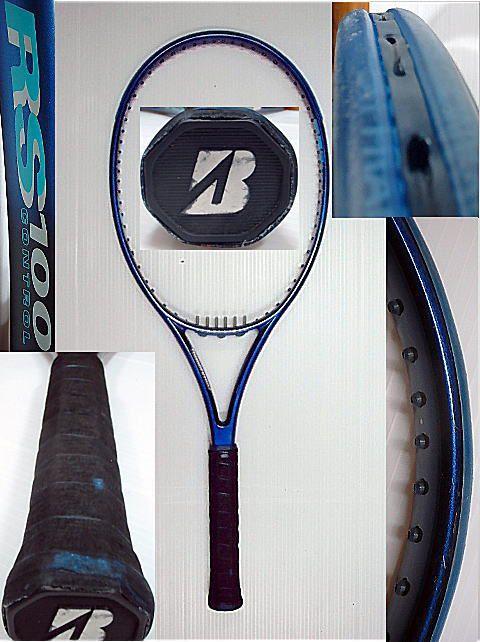 【中古 テニスラケット】BS0009 ブリヂストン RS100コントロール