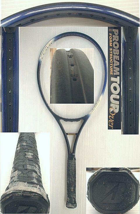 【中古 テニスラケット】BS0030 ブリヂストン プロビームツアーOS