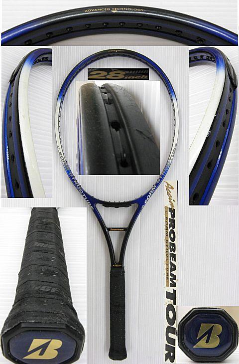 【中古テニスラケット】ブリヂストン アクシム プロビーム ツアーロング Accim PROBEAM TOUR LONG
