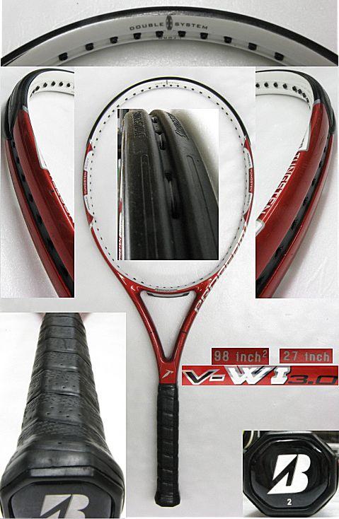 【中古テニスラケット】ブリヂストン V-WI3.0 V-WI 3.0