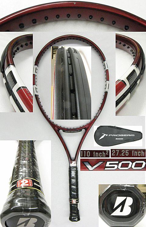 【中古テニスラケット】ブリヂストン プロビーム V500 PROBEAM V500