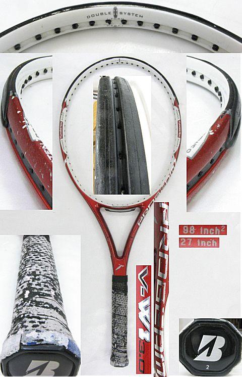 【中古テニスラケット】ブリヂストン V-WI3.0 V-WI3.0