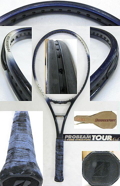 【中古テニスラケット】ブリヂストン プロビーム ツアー ミッド PROBEAM TOUR MID