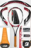 【中古テニスラケット】ブリヂストン Xブレード325