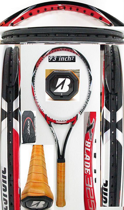 【中古 テニスラケット】BS0161 ブリヂストン Xブレード325