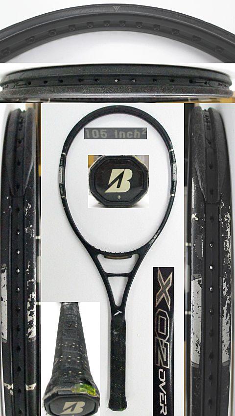 【中古 テニスラケット】BS0163 ブリヂストン プロビームX02 オーバーサイズ