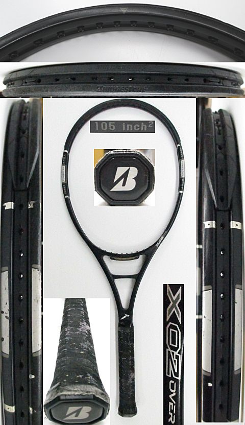 【中古 テニスラケット】BS0164 ブリヂストン プロビームX02 オーバーサイズ