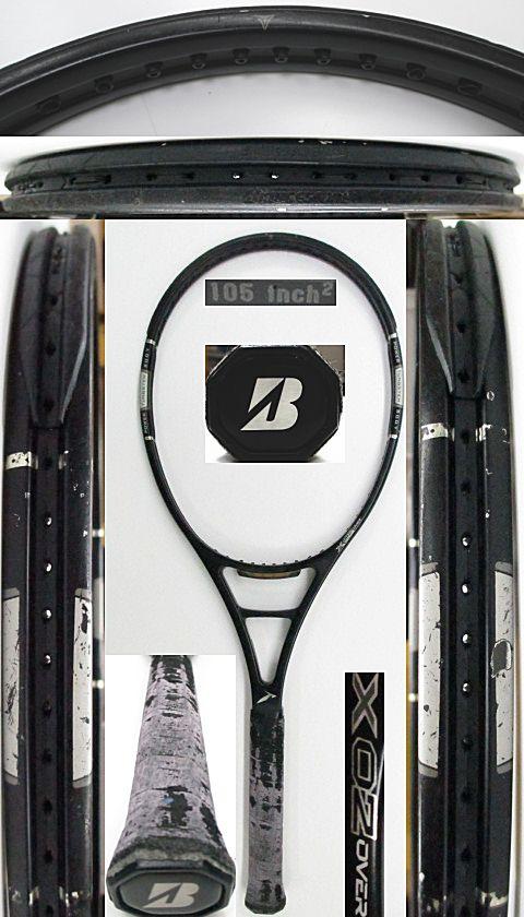 【中古 テニスラケット】BS0165 ブリヂストン プロビームX02 オーバーサイズ